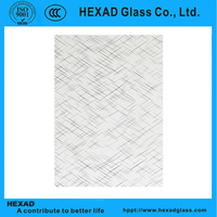 HEXAD 4-19mm AMYJ-38 Deep Acid Etched Frosted Decorative Art Architectural Glass