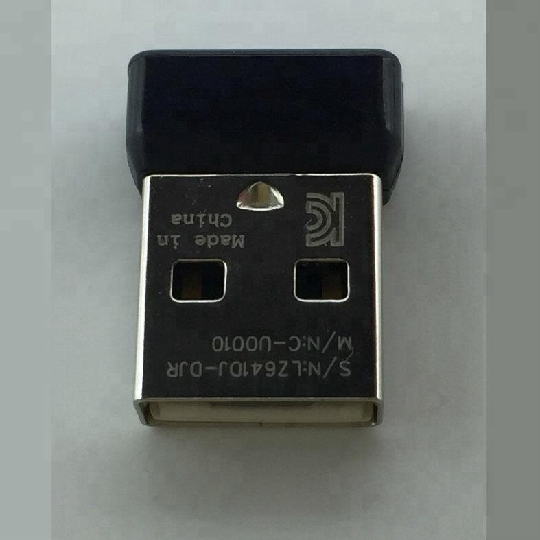 50pcs/lot Genuine 1Channel Receiver Dongle for logitech mouse M185 M215 M235 M325 M545 M705 etc фото