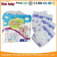 Disposable baby diapers with breathable quality manufacturer in China