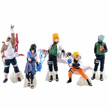 Hot Anime <span class=keywords><strong>Naruto</strong></span> action figure <span class=keywords><strong>set</strong></span> van 5 stks anime figuur PVC figuur speelgoed groothandel prijs
