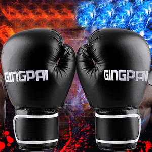 Oem Cross fit fight Boxing Training Gloves Custom Design PU fitness Boxing Gloves Cheap Leather Boxing Gloves