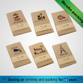 Wholesale new design kraft paper custom happy birthday greeting card wholesale new design kraft paper custom happy birthday greeting cardhandmade greeting card with custom m4hsunfo