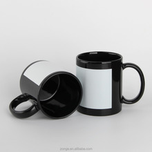 11oz black sublimation mug import from china