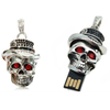 Factory Bulk New Design Skull USB Flash Drives USB 2.0 Metal Pen Drive 32GB 16GB 8GB 4GB pendrives U disk