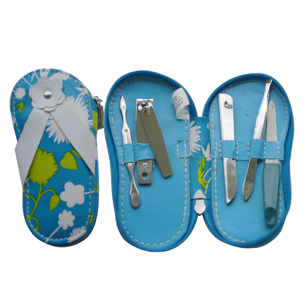 shoe shape 5pcs manicure set