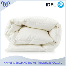 New Design Hotel Bed Comforter Popular White Feather Comforter