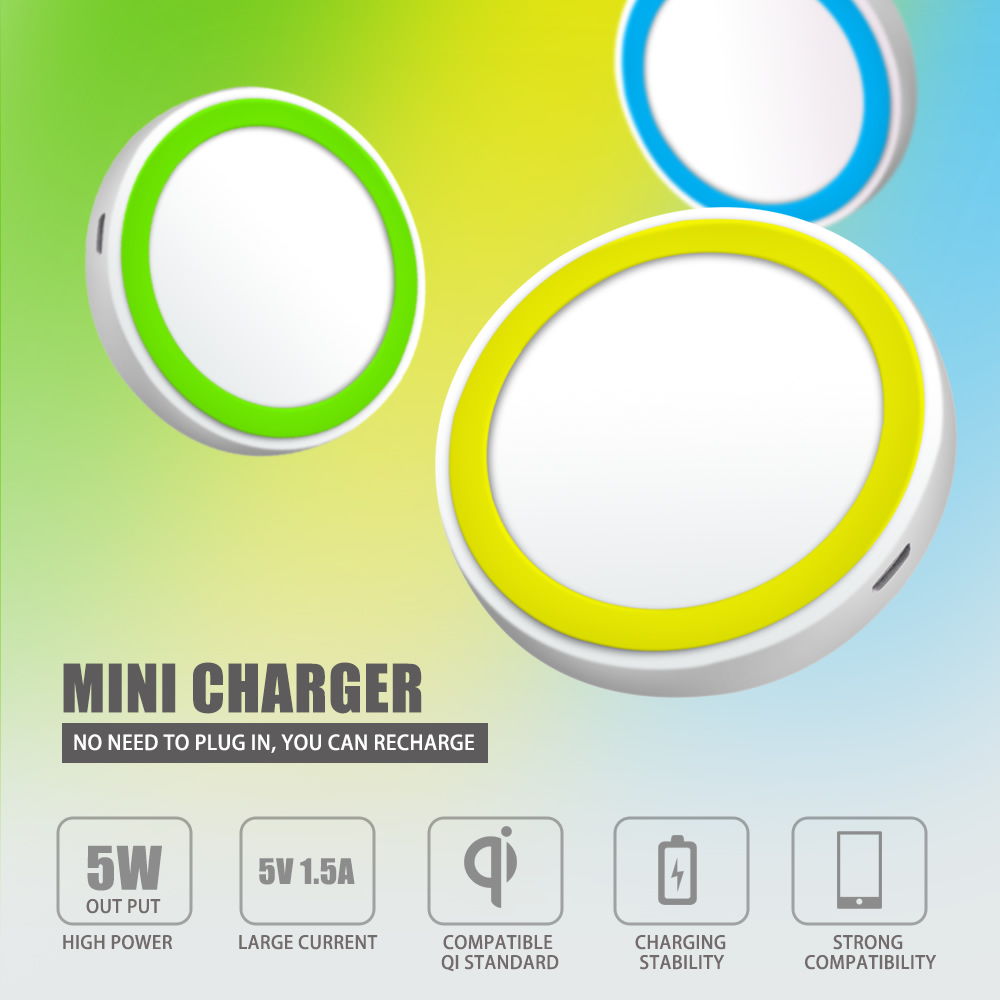 2015 Multi Universal wireless phone charger for Samsung and for Iphone