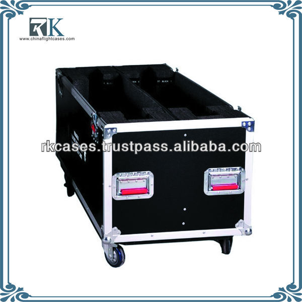 Flight Case Fits Two 50 - 55 Inches LCD/Plasma Screens