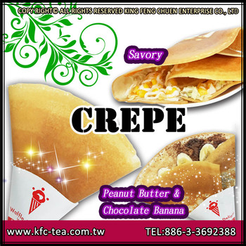 1KG packing delicious crispy crepe powder