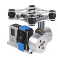 CNC FPV Quadcopter BGC 2 Axis Metal Brushless Gimbal Non Debug Controller for GoPro 3 Camera