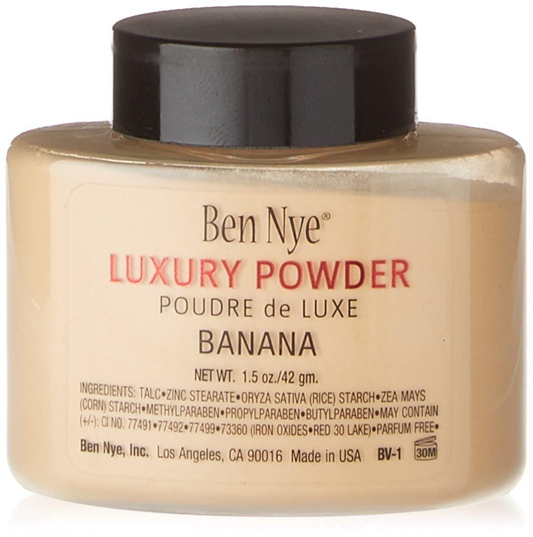 Ben nye banana powder mirrored bathroom vanity with vessel sink