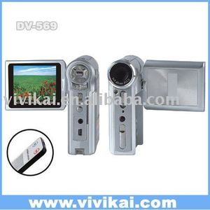 2.4 inch LCD 12Mega pixel digital camcorder with TV out MP3 and MPEG4 player vivikai DV-569