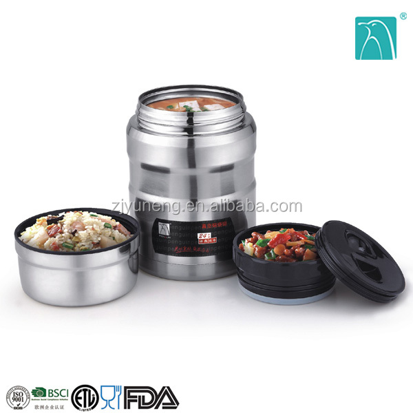 stainless steel lunch box thermos food jar the vacuum flask New Arrival