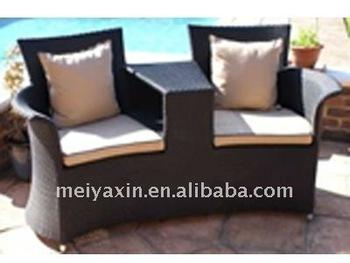 Love-seat Rattan Sofa Ms-277