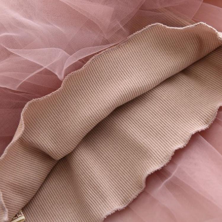 Hot Sale Gaun Merah Muda Tulle Bunga Gadis Gaun Anak Gadis Kecil Gadis Musim Panas Pakaian Desain Pakaian Bayi Gaun