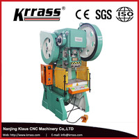 In stock Krrass JH21 C frame High Precision Compact hydraulic press price, 50 ton power press machine rates