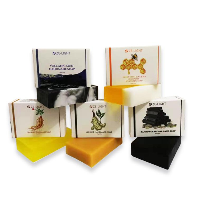 Private Label Herbal Acne Goat Milk Bamboo Charcoal Black Soap Shampoo Bar Organic Natural Kojic Acid Whitening Handmade Soap