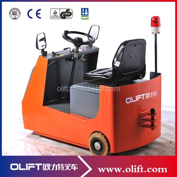 3-wheel light weight electric tow tractor