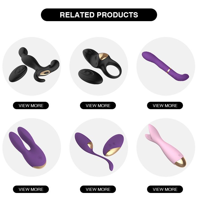 Stretchy Silicone Vibrating Cock Ring And Butt Plug Sex Toy