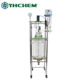 50L Chemical and medical jacketed glass pyrolysis reactor