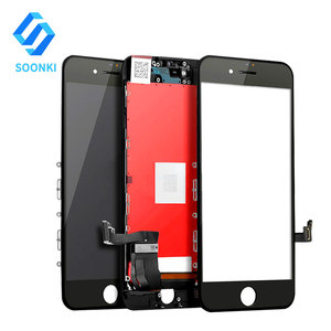 For iPhone 7 Screen Replacement (Black) LCD Touch Screen Digitizer Assembly With Frame Kit With Repair Tools + Glass