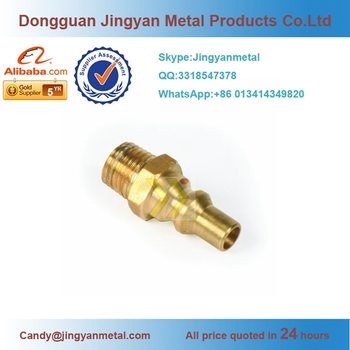 Custom Brass Pipe Fitting Double-end/two-end Male /female Thread  Adapter/joint - Buy Brass Threaded Pipe Adapter,Male /female Thread  Adapter,Brass