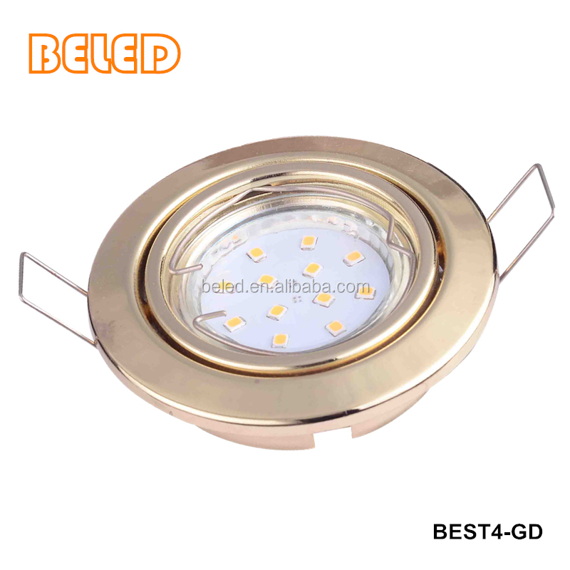 recessed LED downlight fixture holder frame trims gu10 mr16 gu5.3 e27 spot light fittings