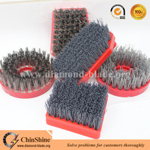 China Good Price Diamond Abrasive Fickert Frankfurt Stone Brush for Granite Marble