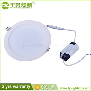 Factory supply customized 3w 4 watt 5w 6w 7w 9w 12w 15w 21w driverless downlight, led fire rated downlights