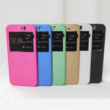 For HTC Cellphone Accessories,Mobile Phone Pu Leather View Cover Flip Case for HTC M9