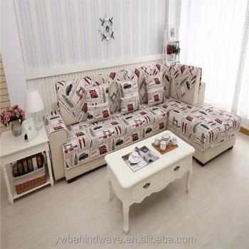 Patchwork Fabric Sofa Cover