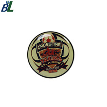 Wholesale Custom Classic Crossfire Football Lapel Pin with Epoxy