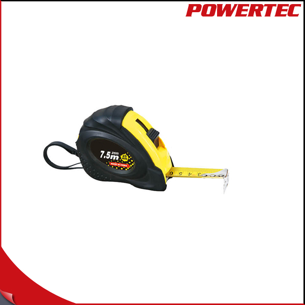 POWERTEC ABS / Rubber Case Tape Measure