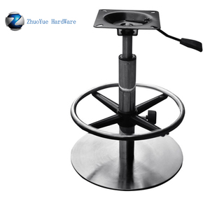 Groovy Height Adjustable Stainless Steel Swivel Bar Chair Base For Barstool Chair Base Parts Metal Height Adjustable Table Base Caraccident5 Cool Chair Designs And Ideas Caraccident5Info