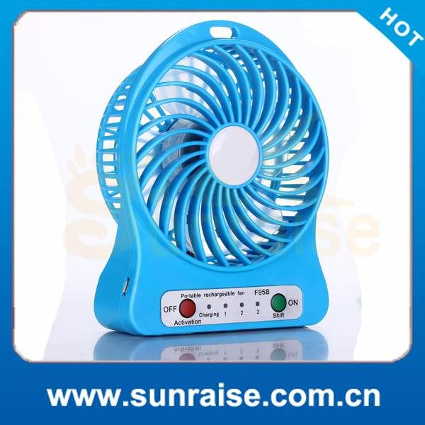 consumer electronics fantastic portable fan mini battery operated desk cool cooler fan with rechargeabley