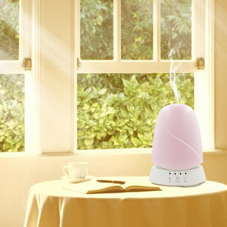 Eco-Friendly Home Ultrasonic Air Scent Diffuser Essential Oil with Fine Mist