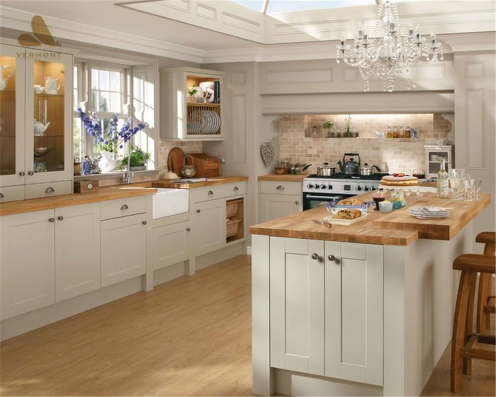 White Shaker Style Kitchen Cabinet