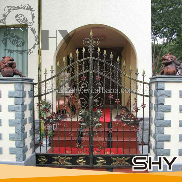 Wrought Iron Small Gate Designs / Forge Iron Garden Gate Models