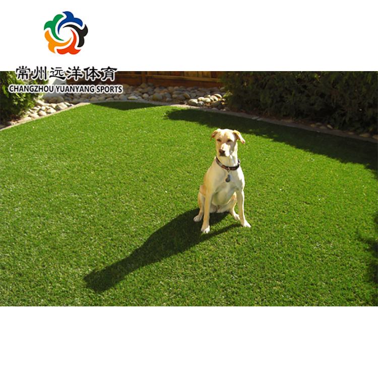 Artificial synthetic lawn soft and safe garden and landscaping green grass