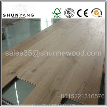 Unfinished European White Oak Engineered Parquet Hardwood Flooring