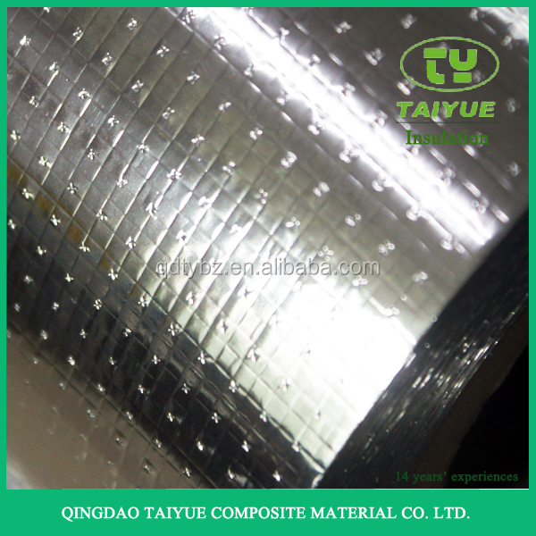Perforated Aluminum Foil Backed Woven Cloth Insulation