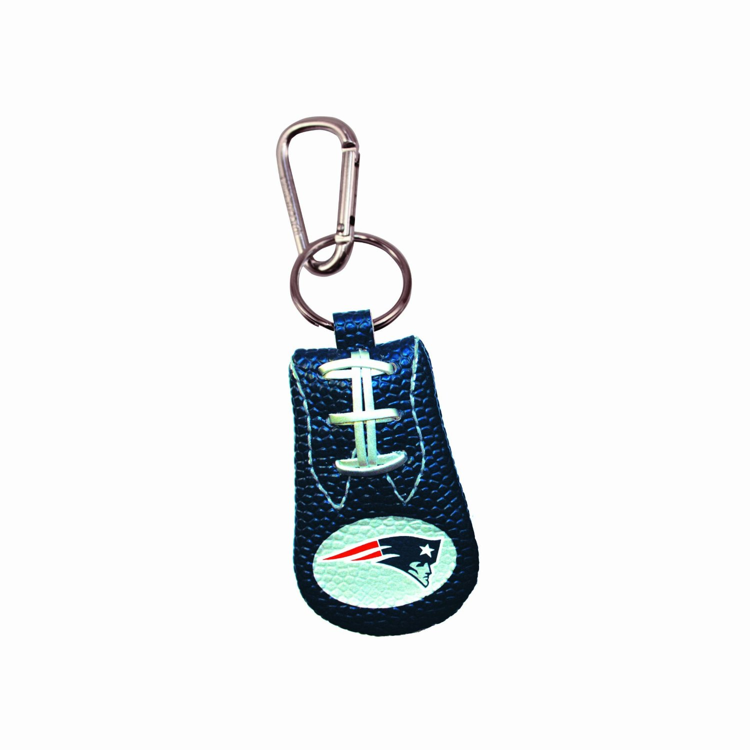 72559b270 Get Quotations · New England Patriots Team Color NFL Football Keychain