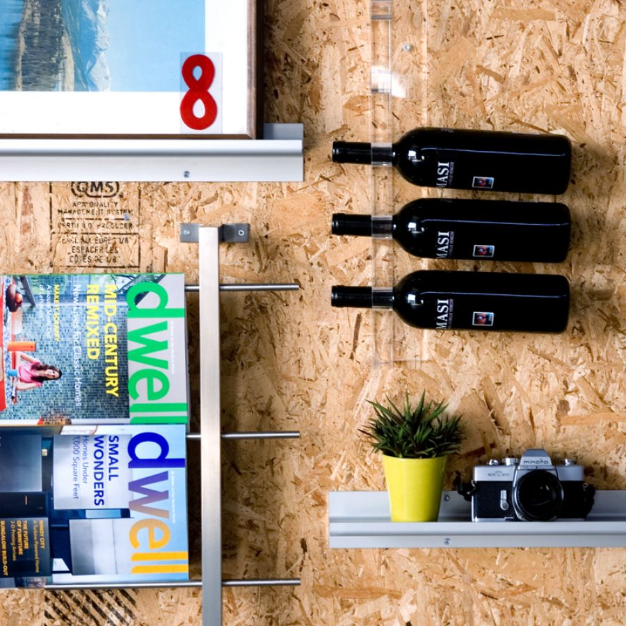 bottle acrylic wine clear oxo display interior rack