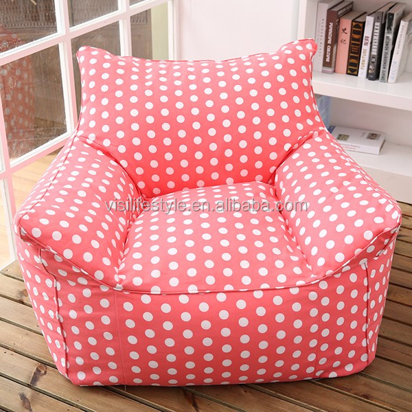 Home Furniture Flag Bean Bag Chair Cover Indoor Outdoor Arm Chaise Lounge
