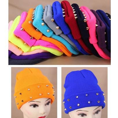 Женские головные уборы и шапки желе флуо зимние шапки для девочек вязаная шапка хип хоп конфеты цвет Skullies и шапочки женщины Hat Cap M05