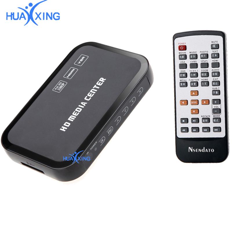 FULL HD 1080P Media Player TV BOX HDMI USB SD//MMC MKV Multimedia Festplatte