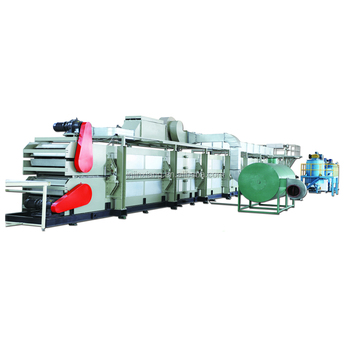 automatic PU flexible facing panel foam continues line
