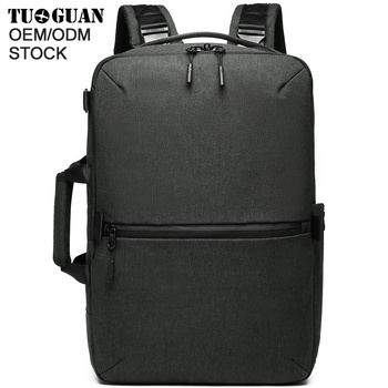 TUGUAN men briefcase type shoulders bag laptop smart backpack