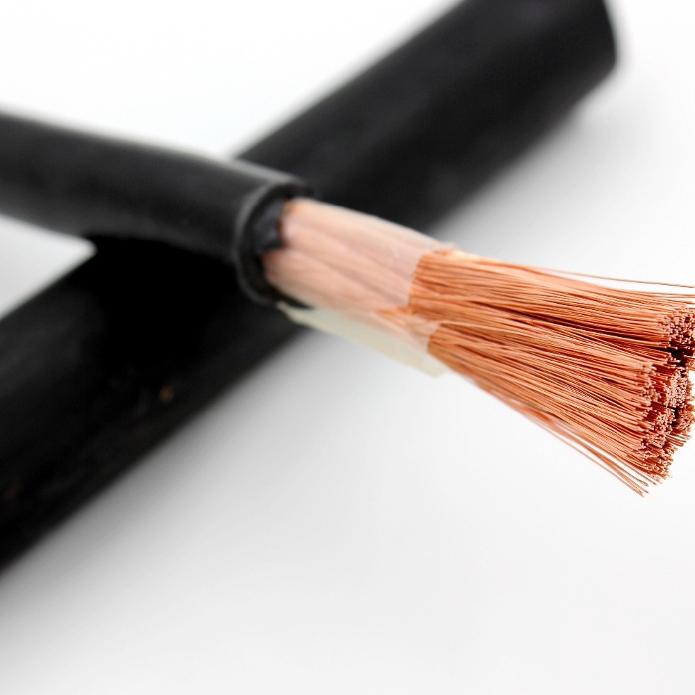 single insulated 16 25 35 50 70 95 120 sq mm copper welding cable