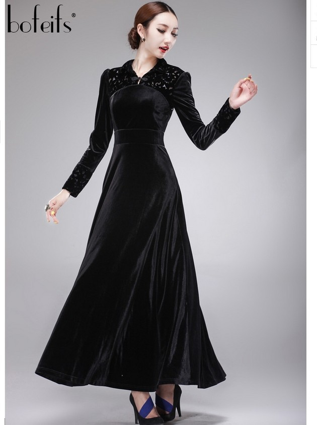 Vintage Velvet Dress 103